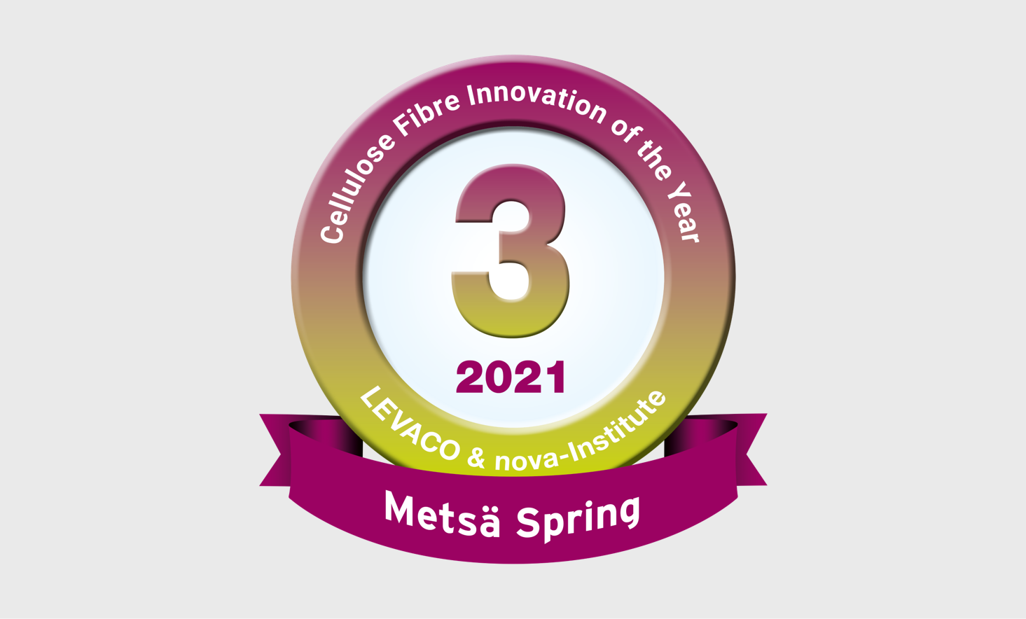 Metsä Spring wins third place in international Cellulose Fibre Innovation of the Year 2021 award